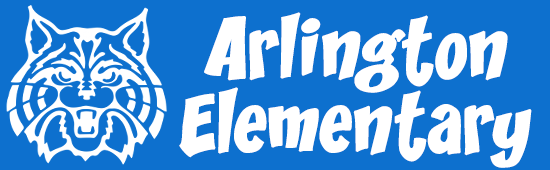 Arlington Elementary School – Home of the WildCats Logo